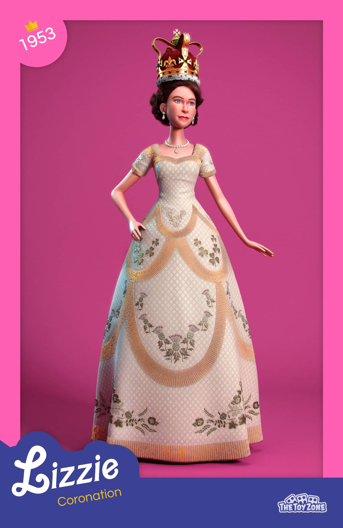Queen Elizabeth 1953 Coronation day